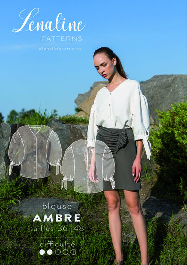 BLOUSE AMBRE PUFFY SLEEVES