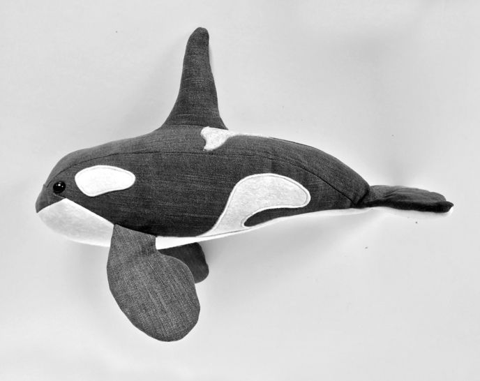 Orca sewing pattern (killer Whale) - instant download pdf