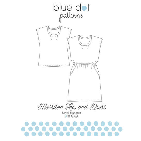 Morrison Top and Dress PDF Sewing Pattern
