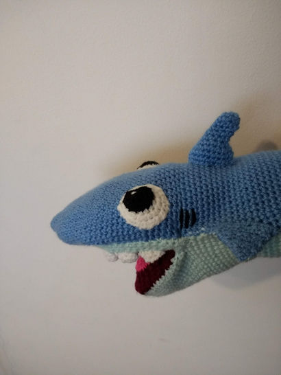 Amigurumi Baby Shark - Crochet Baby Shark Doll - Yellow Baby Shark ... | 546x410