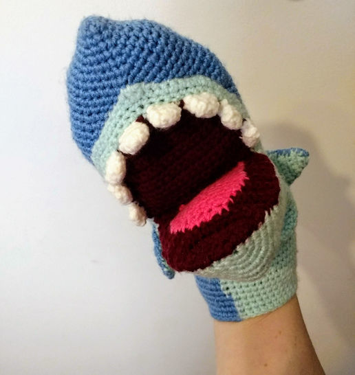 Baby Shark and His Family Free crochet pattern | 546x516