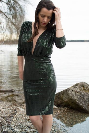 Glam Dress Schnittmuster und Anleitung by Sewera