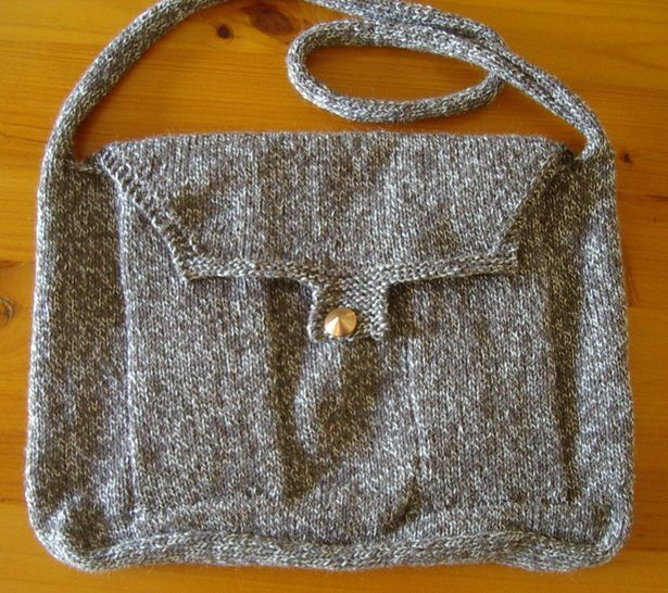 8ply messenger bag with two pockets - Bailey