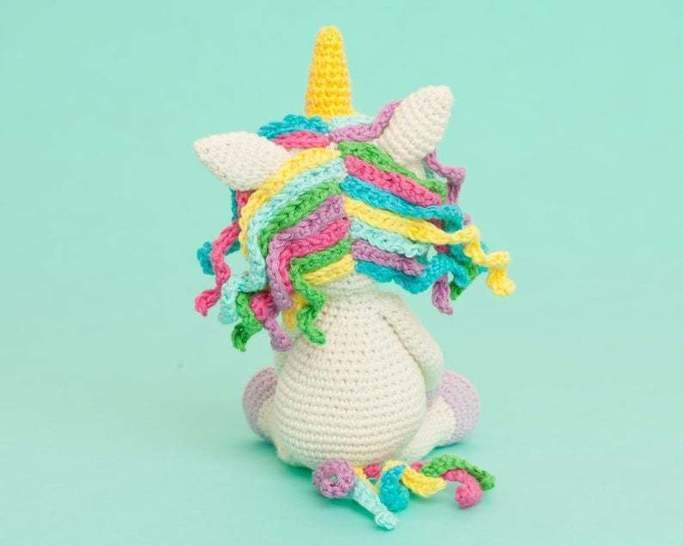 Unicorn amigurumi pattern, Unicorn crochet pattern
