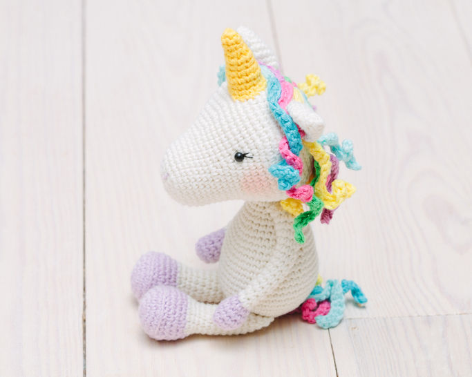 Free Amigurumi Crochet Pattern for Jazzy the Unicorn ⋆ Crochet ... | 546x683