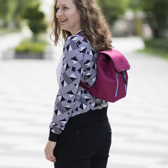 Margo backpack in 2 sizes - backpack pattern and tutorial