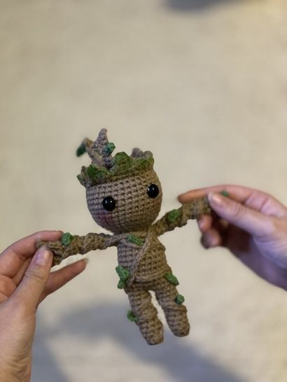 Smartapple Creations - amigurumi and crochet: Baby Groot ... | 546x410
