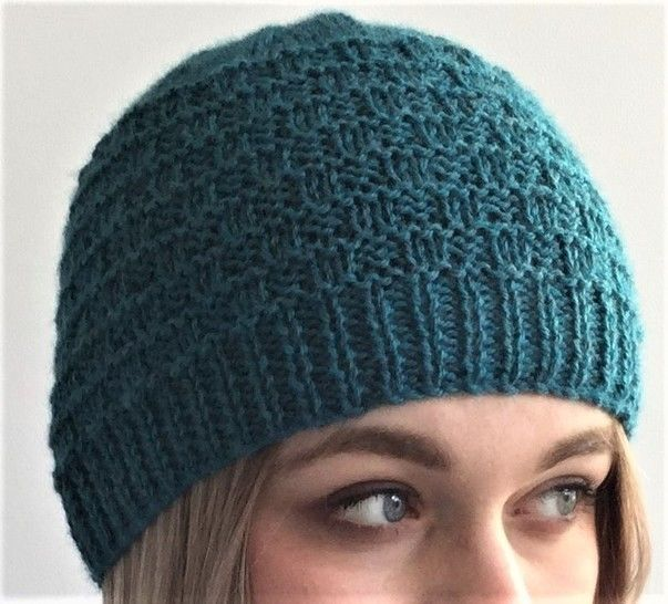 Sea Waves Hat - 2yrs to l adult
