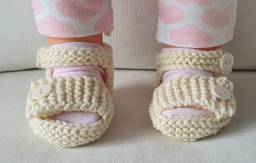 Baby sandals with buttoned ankle and foot straps - Larissa