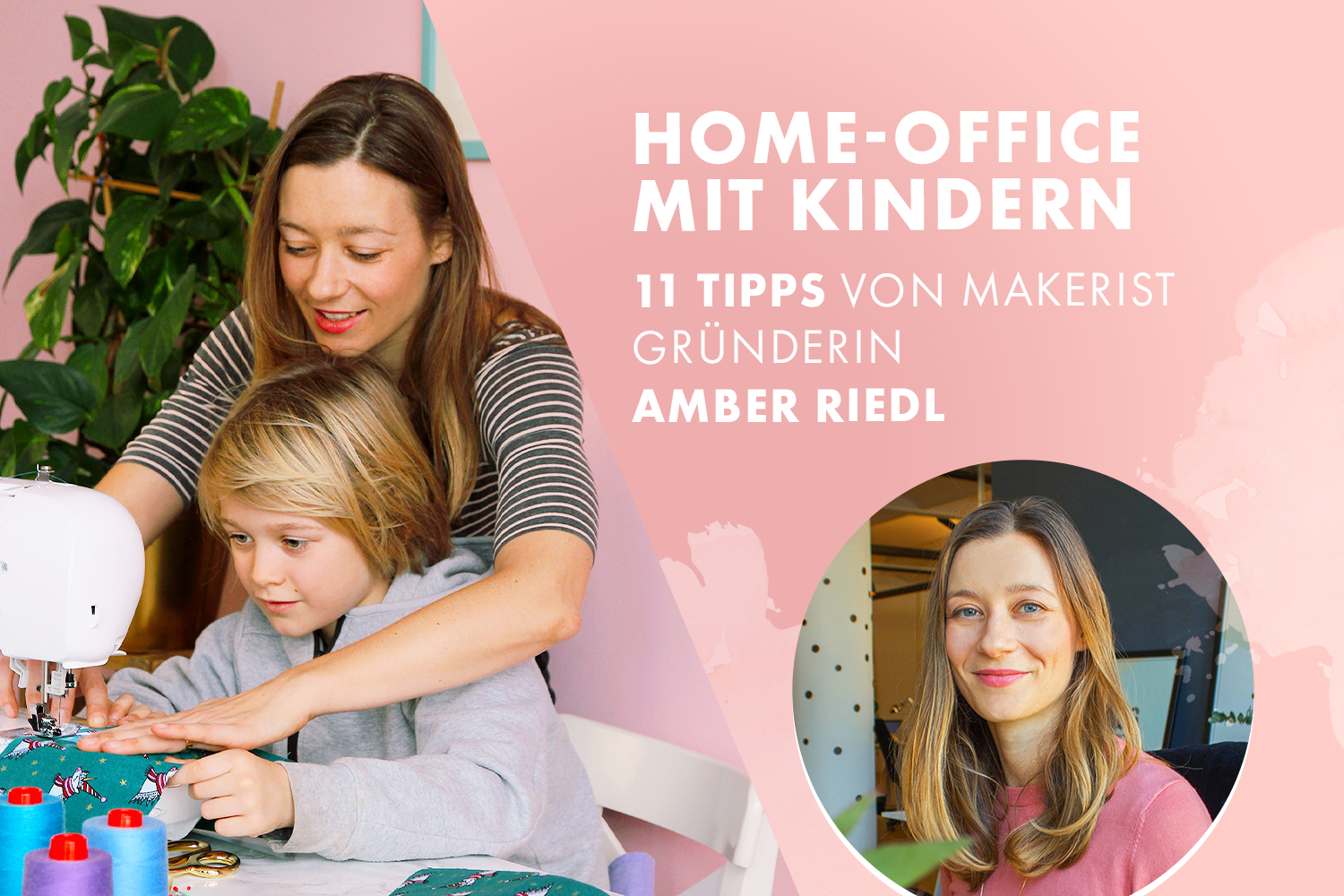 Home Office mit Kindern