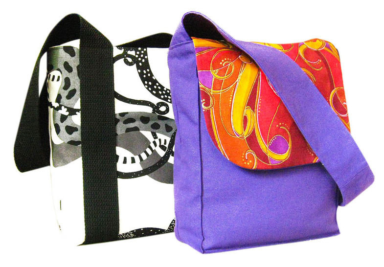 the shopper - sewing pattern for medium size tote bag