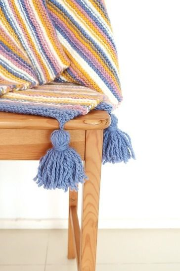 Chunky knit blanket pattern, easy knit throw blanket