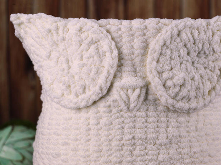 Knit Owl Basket