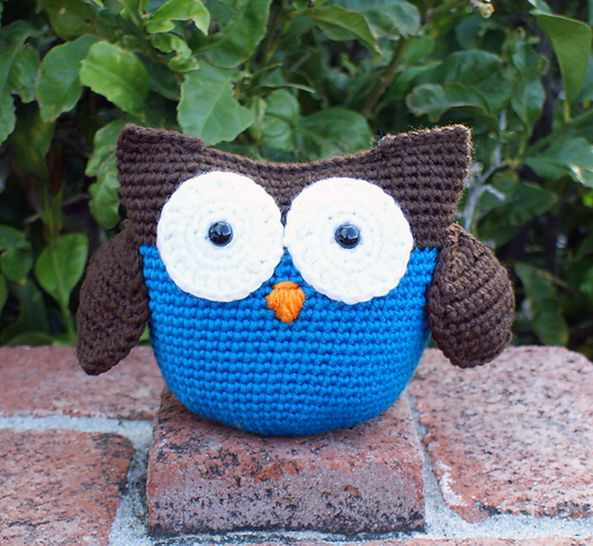 Roly Poly Owl Crochet Pattern