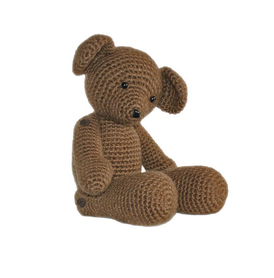 Teddy the Heirloom Bear Crochet Pattern