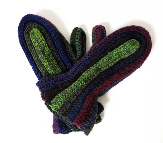 All Good Women's Mittens Crochet Pattern