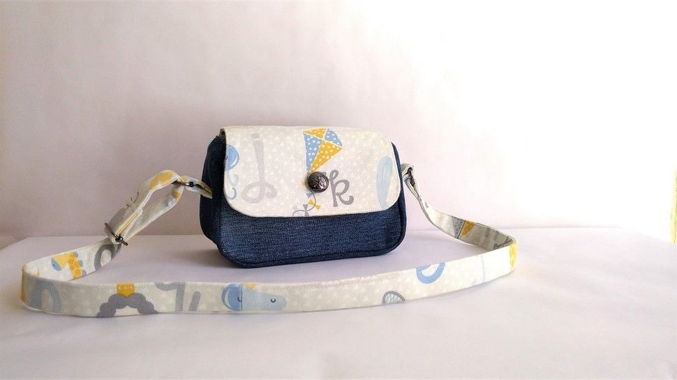 Kid's bag Alicia in PDF sewing pattern