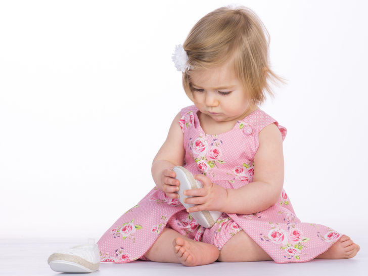 ROSA Baby girls pinafore dress pattern with bows or buttons