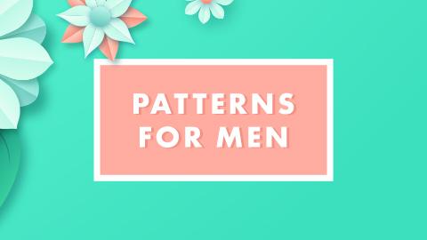 Patterns for men