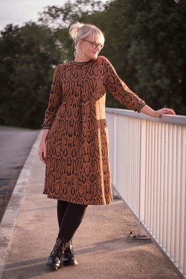 Lilly - Pattern Dress Or Blouse