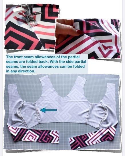 Bikini-top #Jane pattern and instructions (Sizes: XS-L)