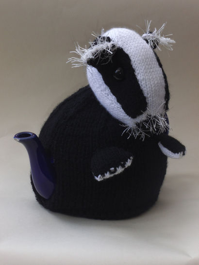 Badger tea cosy