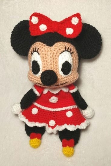 Tutoriel doudou Minnie plat LADM