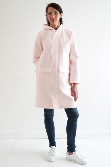 Jacques - Raincoat - PDF pattern