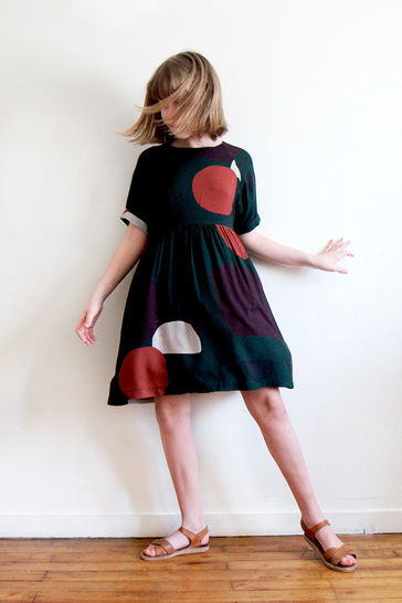 Cassiopée Mini - dress sewing pattern for kids