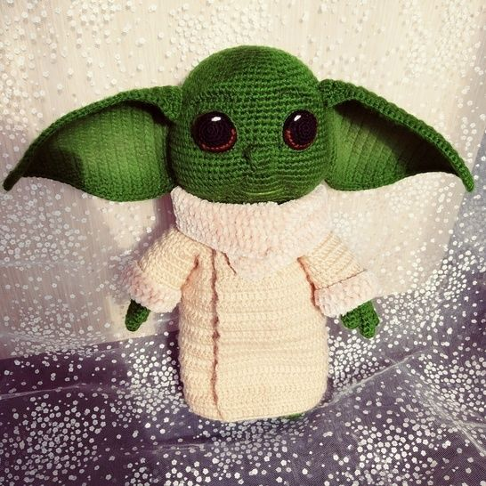 Here's A Baby Yoda-Inspired Crotchet Pattern That You Can Make ... | 546x546