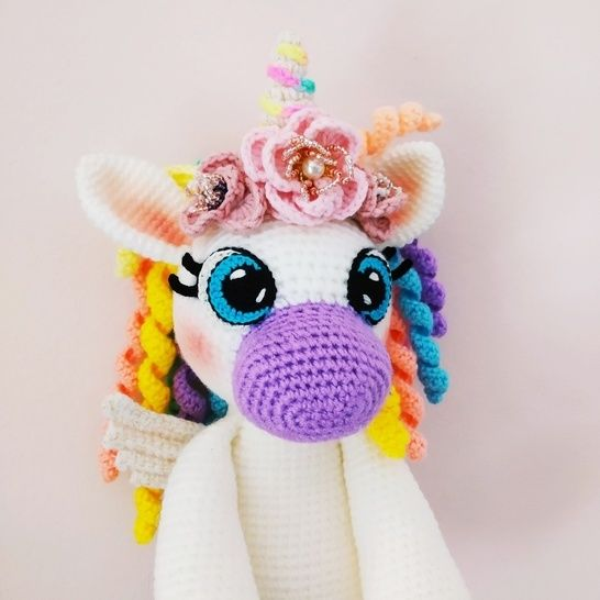 18 Free Unicorn Crochet Patterns – Crochet | 546x546
