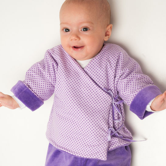 FIORINO lined baby wrap jacket pattern