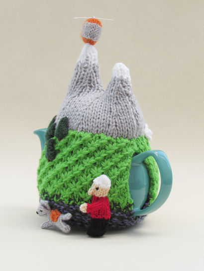 Mountain Rescue Tea Cosy Knitting Pattern