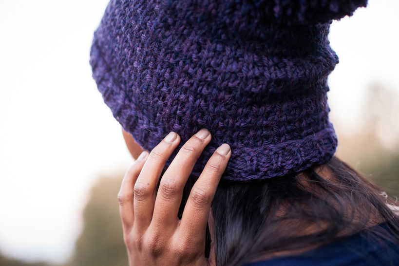 Roscoe's Toque - hand knitting pattern