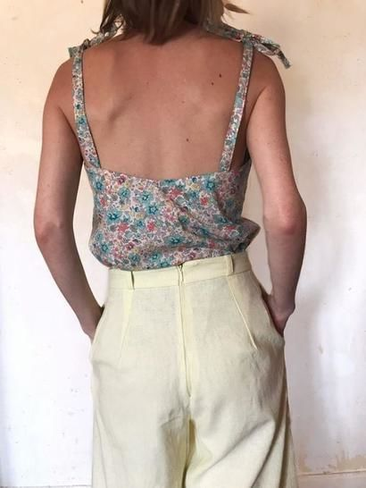 THE SONGE CAMISOLE SEWING PATTERN PDF VERSION