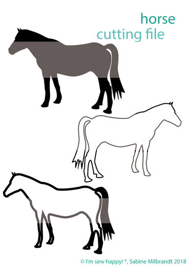 Cutting file horse commercial use