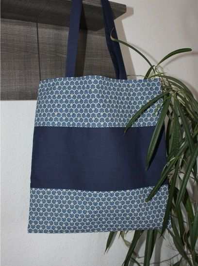 Tote bag réversible - Alouette