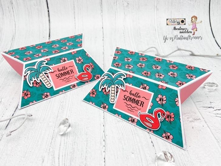 """""""Abenteuerliche Poolparty"""" Digistamps + Digipapers"""