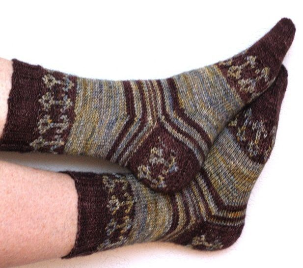 Paris Gardens Socks