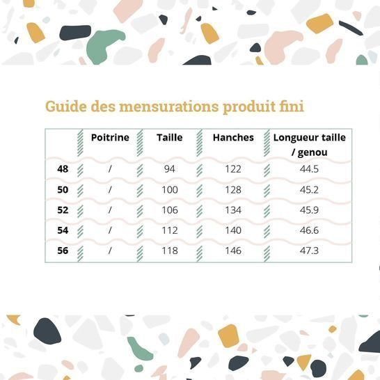 Jupe Arbanaise - Grandes Tailles (T48-T56)