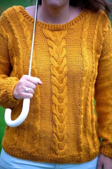 Easy Cable Knit Sweater Pattern, cable sweater pattern