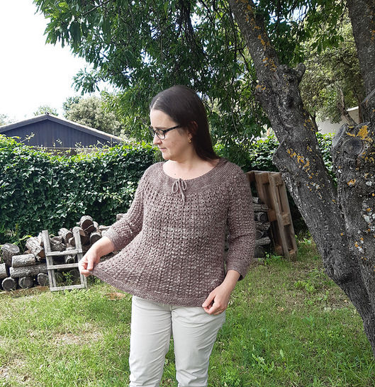Pull femme Epeautre
