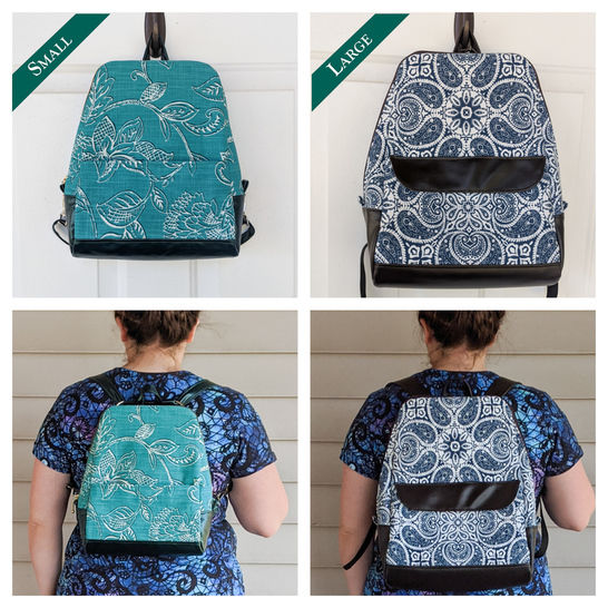 Odyssey Convertible Backpack Pattern