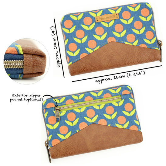 Wallet Little Mynta – pattern and sewing instructions