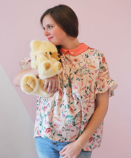Blouse Orgueil - PDF pattern for women - easy