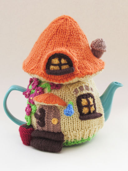 Fairy House Tea Cosy Knitting Pattern