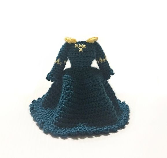 Valentia Base Body Doll With Merida Outfit