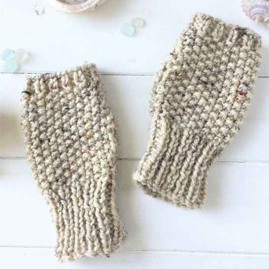 Pebbles Fingerless Gloves - 2yrs to L.Adult - Easy