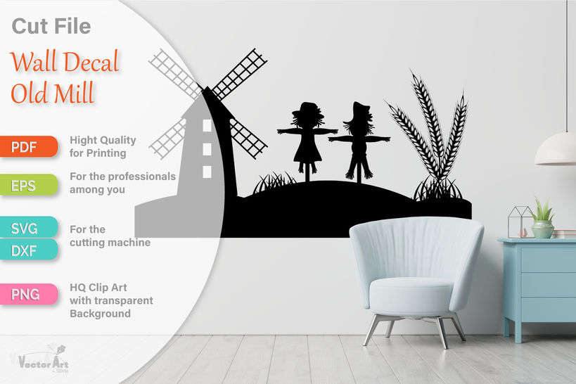 Happy Autumn - Wall Decal - Cutting Files