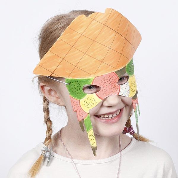 Kidsbox Pappmaske